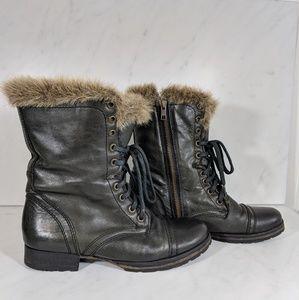 Steve Madden Faux Fur Boots
